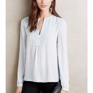Anthro HD in Paris Telma Blouse in Sky Blue 6